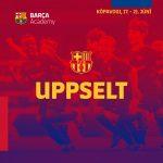 Uppselt er á öll FC Barcelona námskeiðin!!