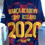 Viltu vinna BARCA ACADEMY CAMP ICELAND 2020 treyju?